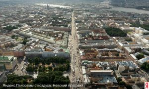 Петербург с высоты птичьего полета