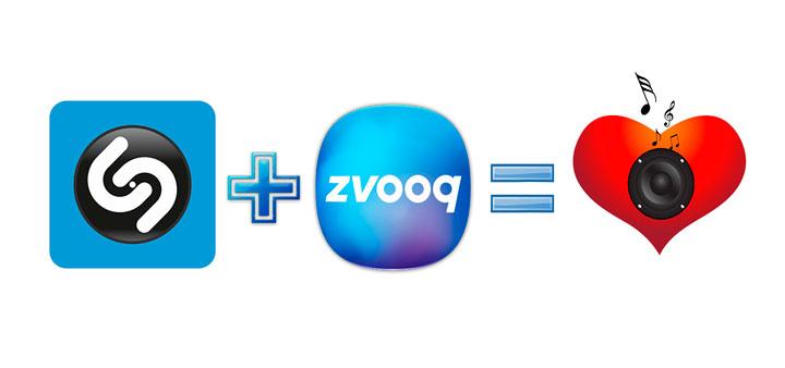 Партнерство Shazam и Zvooq