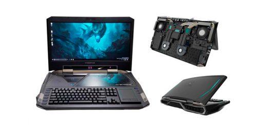 Predator 21 X – игровой ноутбук-гигант с изогнутым экраном