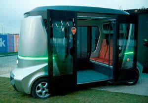 Российский беспилотный автобус «Матрешка»