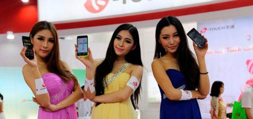 Рынок смартфонов покоряют китайские компании