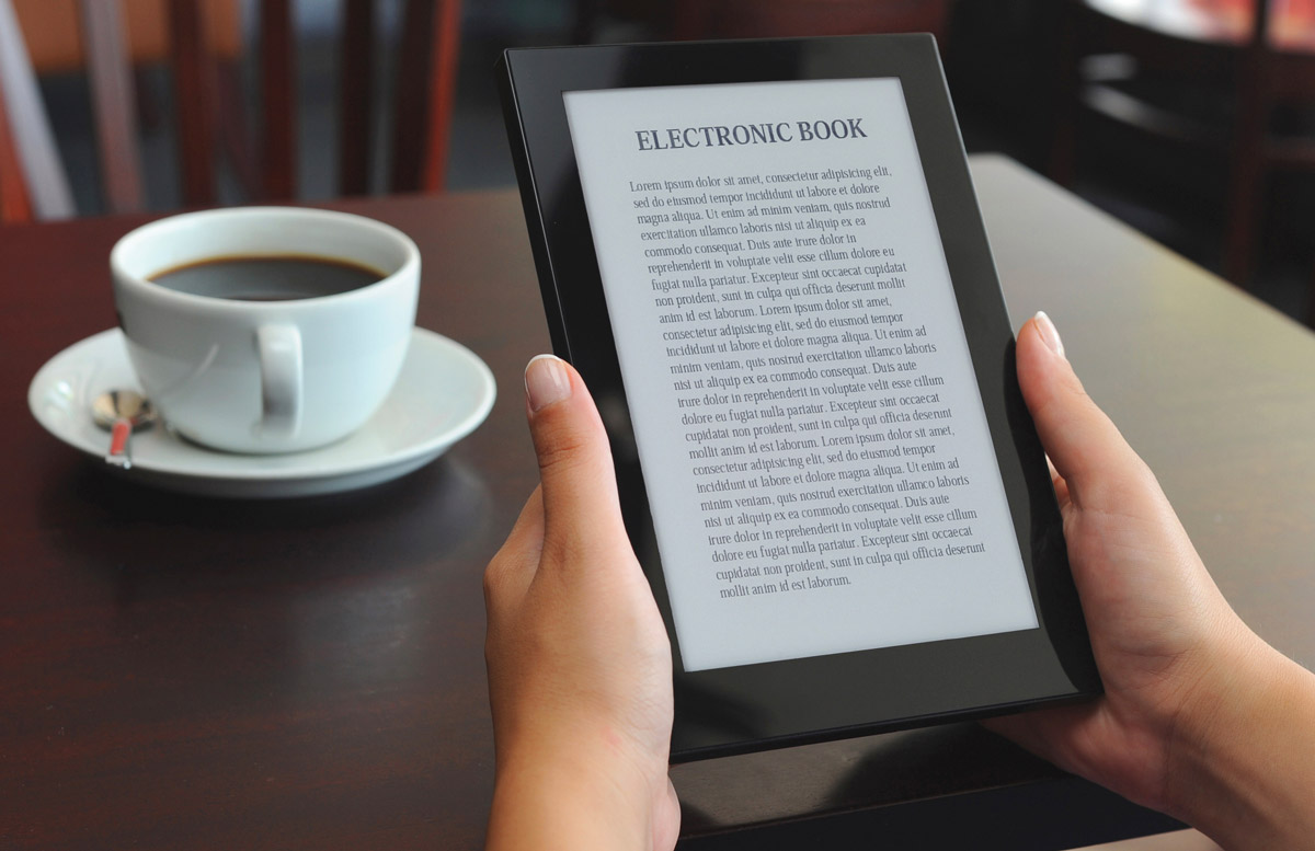 цвета, чтение электронной книги картинки техника