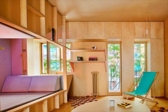 В Мадриде создали прохладный дом без кондиционеров