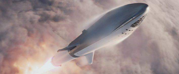 В SpaceX рассказали о цене билетов на Spaceship