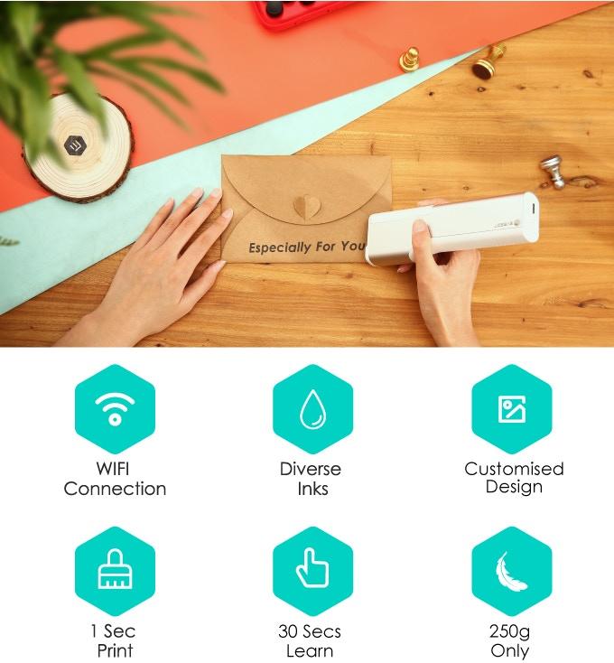 PrintPen – сверхкомпактный принтер для печати на чем угодно