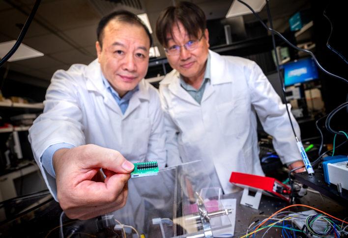 Новый квантовый чип сделает гаджеты безопасными