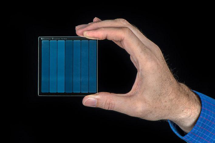 В Microsoft придумали новый оптический носитель данных