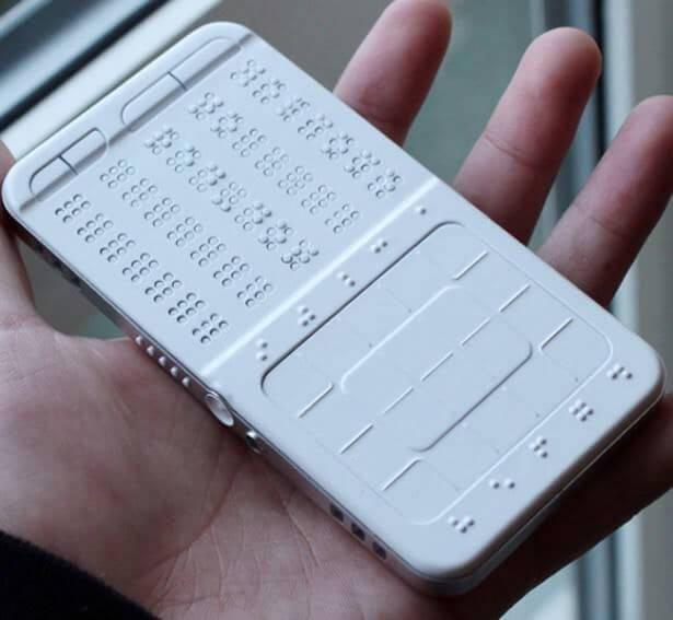 Разработан уникальный смартфон для слепых!