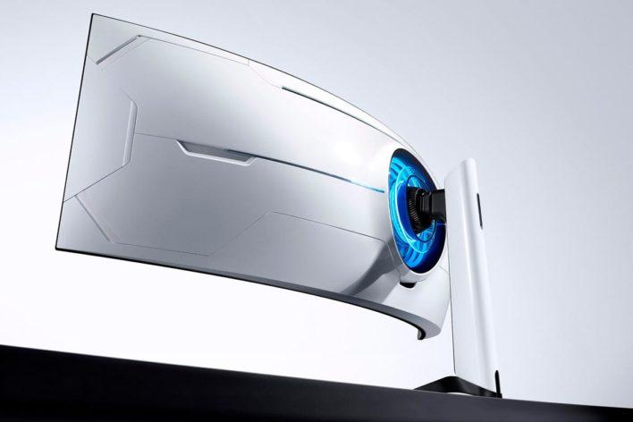 Игровой монитор Samsung Odyssey G9 предлагает эффект полного погружения