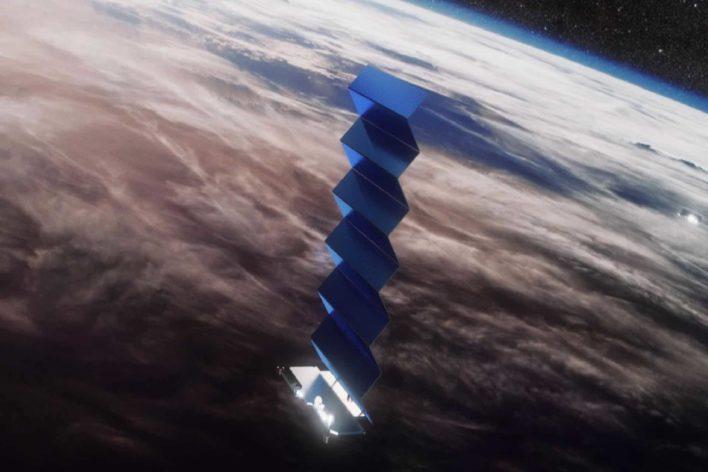 Космический интернет Starlink будет самым быстрым в мире!