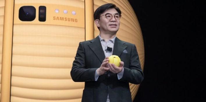 «Робомяч» Ballie. Новый домашний помощник от Samsung
