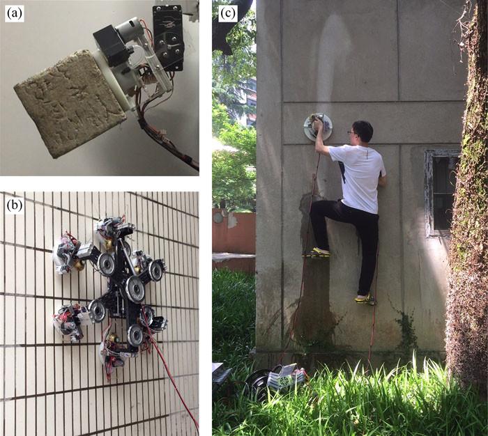 В Китае создан робот-скалолаз
