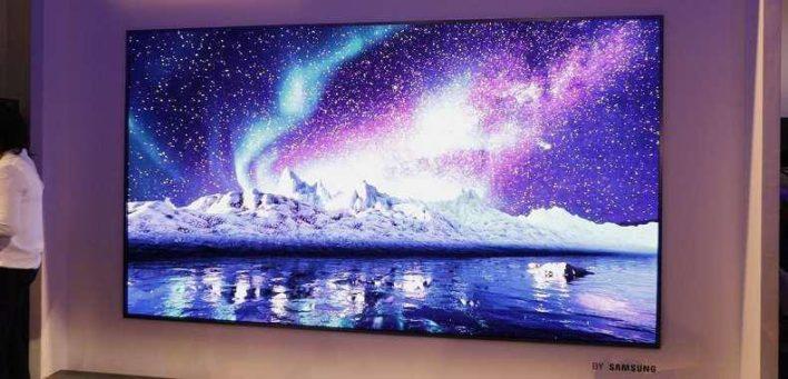 Samsung разрабатывает полностью беспроводной телевизор