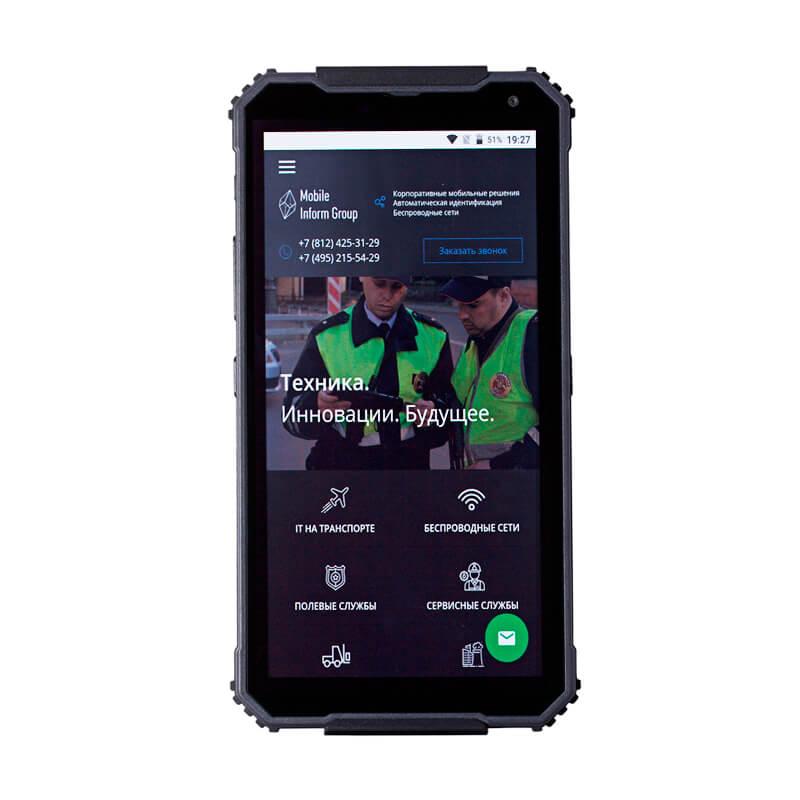Российская компания представила «не убиваемый» смартфон