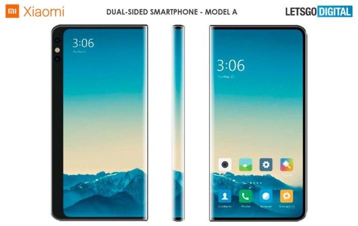 Xiaomi запатентовала два смартфона с закругляющимися экранами