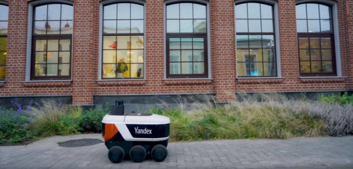 Яндекс.Ровер начал доставку заказов с интернет-магазина Беру