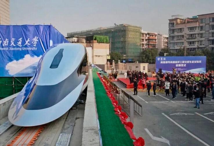 Сверхскоростной поезд протестируют в Китае