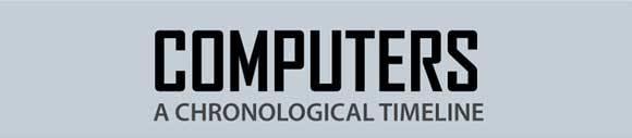 Инфографика развития компьютеров с 1939 по 2010 год