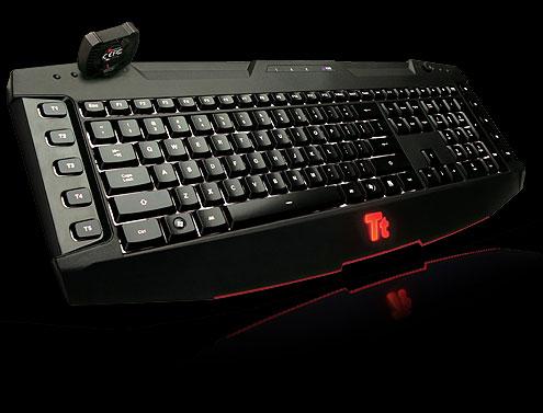 Tt eSPORTS CHALLENGER Ultimate: игровая клавиатуры для фанатов MMORPG и RTS