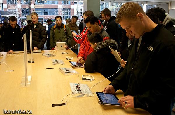 iPad 2 первое впечатление