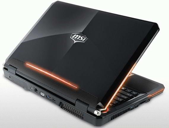 Игровой ноутбук MSI GX680 на базе платформы  Sandy Bridge