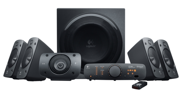 Новая акустическая система Logitech Surround Sound Speakers Z906