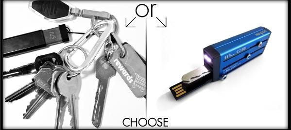 Универсальный ключ Keyport Slide теперь с подсветкой