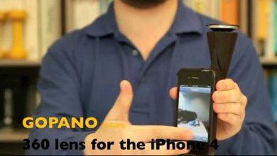панорма на iPhone