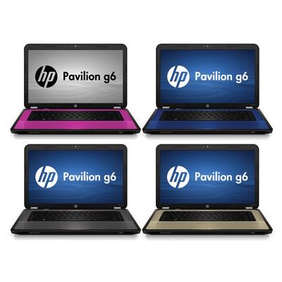 Новая серия ноутбуков HP Pavilion g6