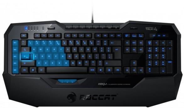 Игровая клавиатура с подсветкой ROCCAT Isku