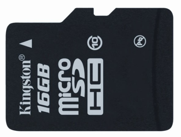 Kingston выпускает карту памяти microSDHC Class 10