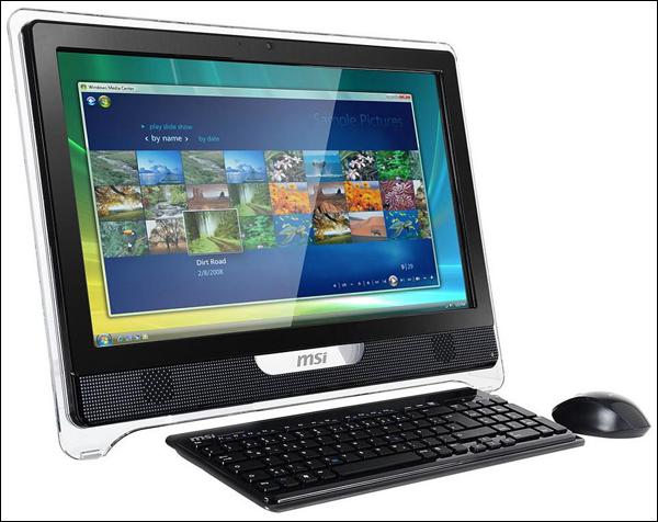 MSI представила Wind Top AE2210 «all-in-one» c Full HD-экраном