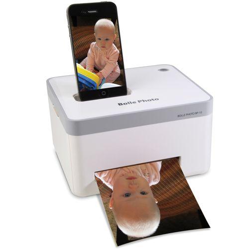 IPhone фотопринтер