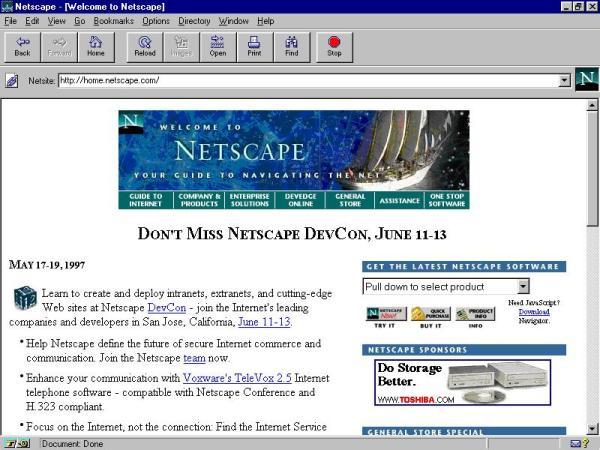 17 лет с основания Netscape Communications