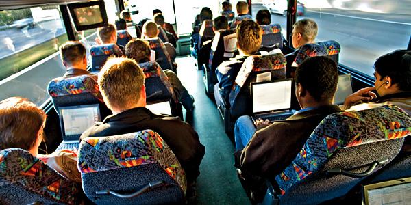 В мурманских троллейбусах будет бесплатный Wi-Fi