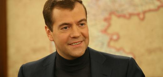 Инновационный презент российскому лидеру сделал глава канадской компании RIM Джим Балсилли.