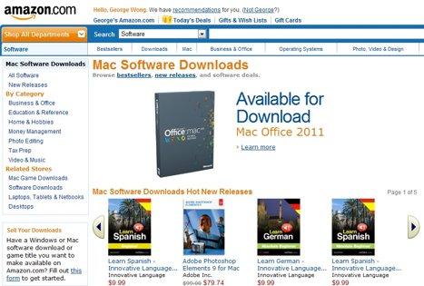 Amazon запускает собственный магазин Mac-приложений