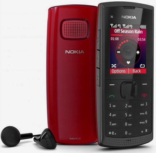 Nokia представляет Nokia X1-01 – простой телефон с поддержкой двух SIM-карт