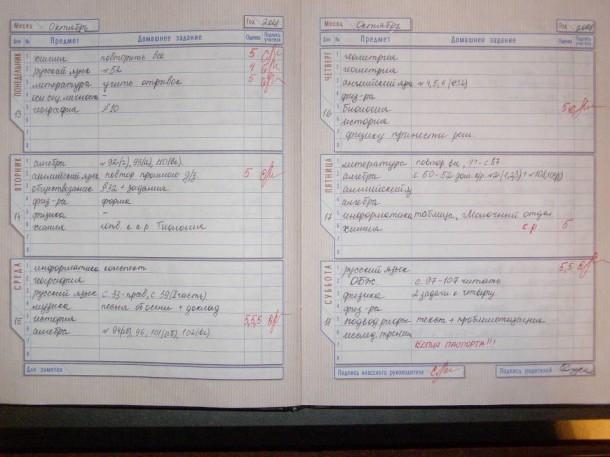 Электронный дневник pgumosru - a5d
