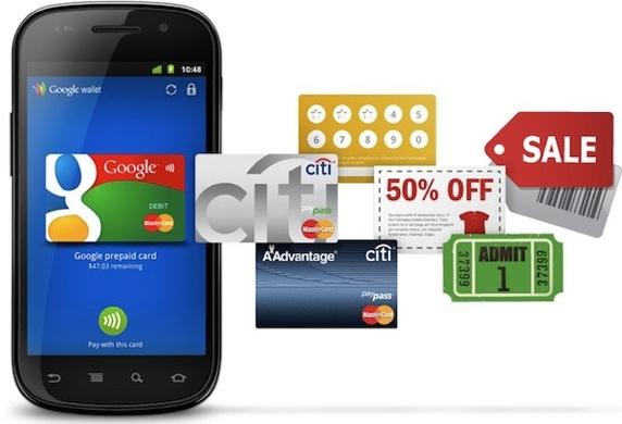 Google заменяет банковские карточки на смартфон