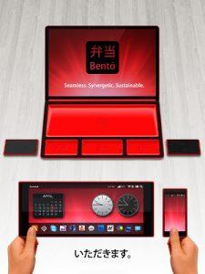 Последняя разработка компании Rene Woo-Ram Lee – концепт Bento Laptop Tablet Hybrid.