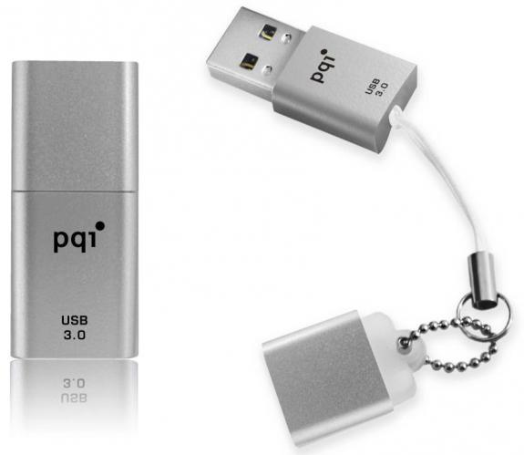 Самая компактная в мире USB 3.0 флешка представлена компанией PQI