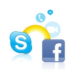 Google и Facebook нацелились на Skype