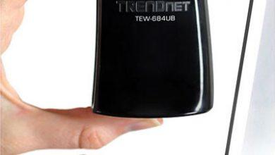 USB-адаптер TRENDnet стандарта 802.11 Dual Band N 450 Мбит/с