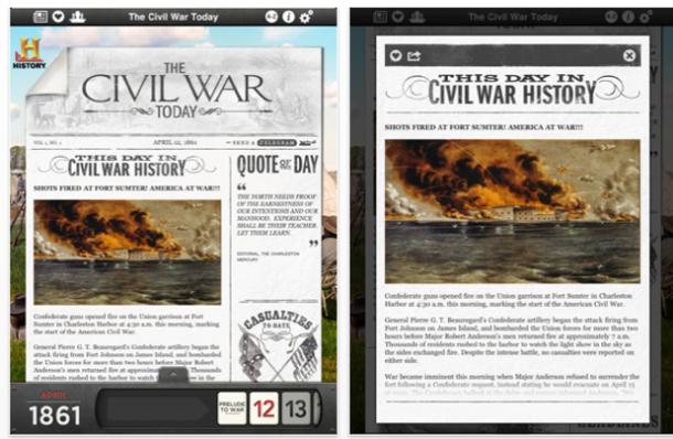 Новости гражданской войны в iPad