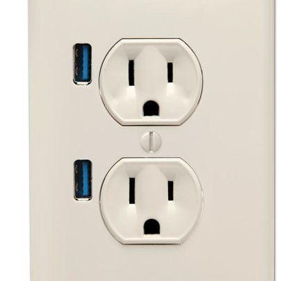 U-Socket USB Wallplug