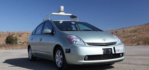 машина без водителя от google