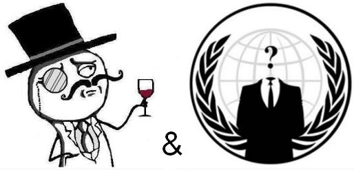LulzSec и Anonymous объеденяются