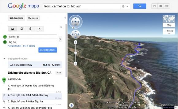 """""""Вид с вертолета"""" от Google"""