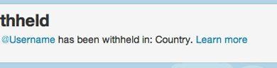 Twitter будет блокировать контент избирательно